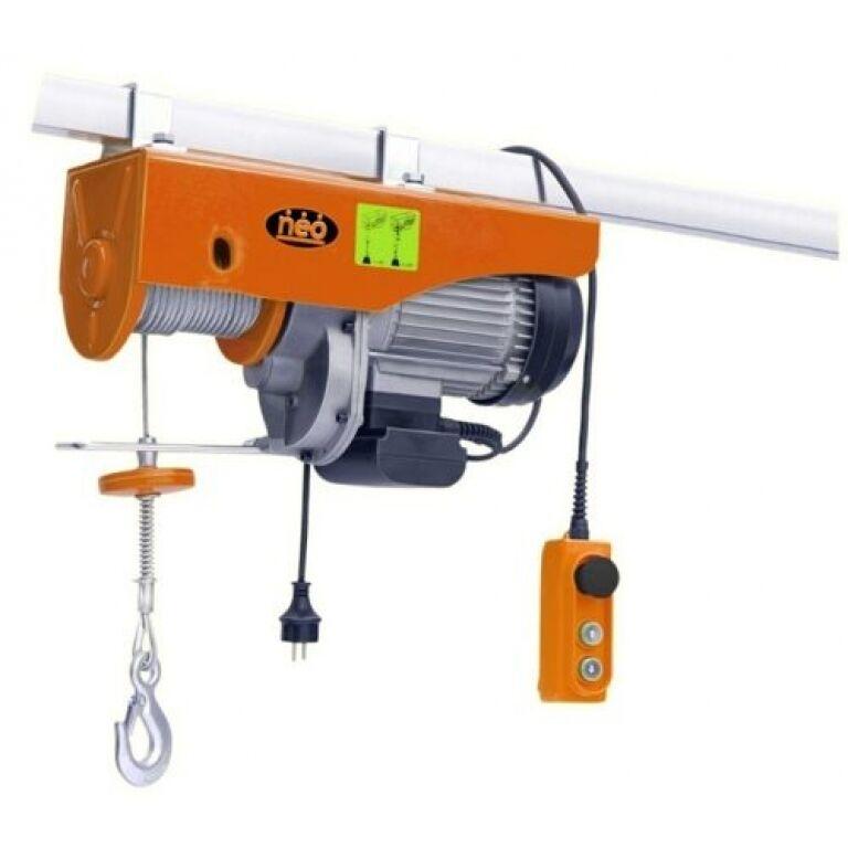 APAREJO ELEC. CABLE NEO 500/1000 KGS 1600 W AP91000