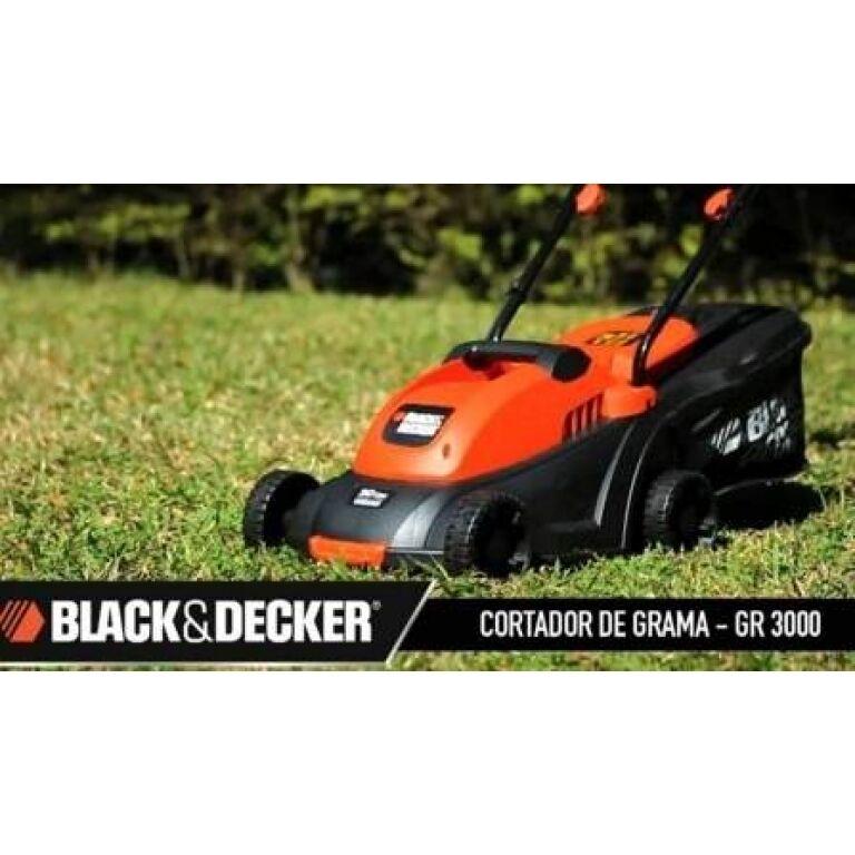 BLACK Y DECKER CORTADORA CÉSPED 1000W GR3000
