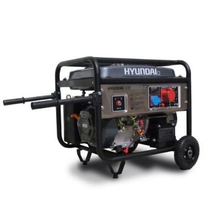 Generador Hyundai 8kw Trifásico Hy9000le-3 019-0061 Herracor
