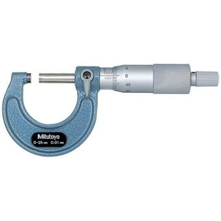 MITUTOYO 103137 MICRO EXTERIOR 0- 25