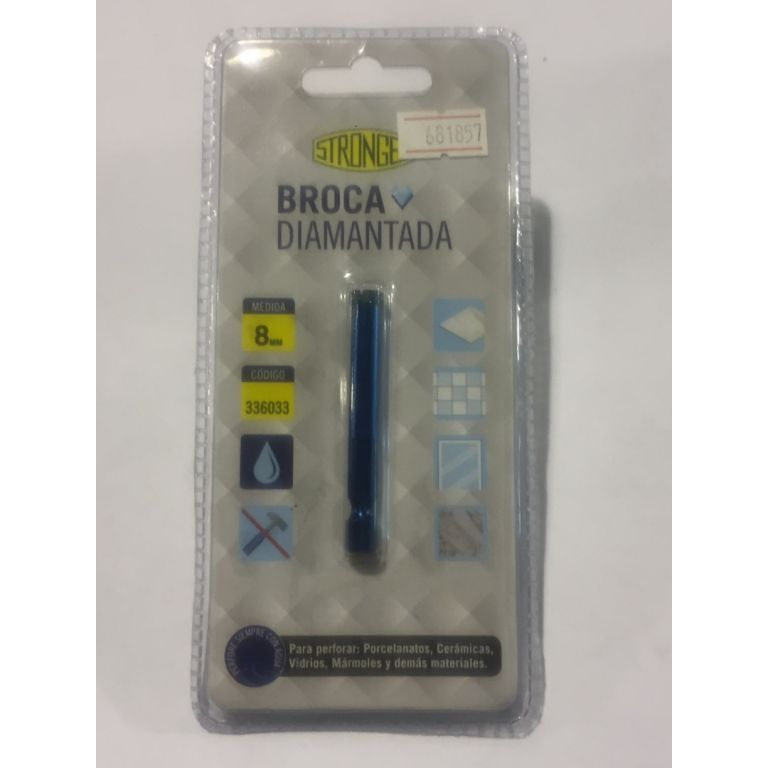 MECHA DIAMANTADA STRONGER 8 MM 336033