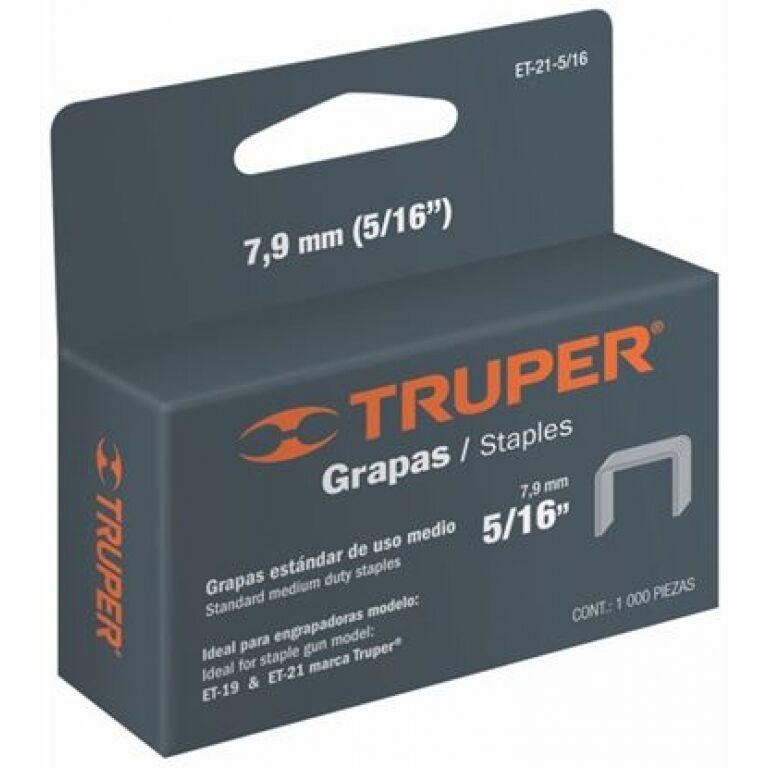 GRAMPADORA.TRUPER - GRAMPAS MODELO ET 21 2.- 5/16 (1000u)