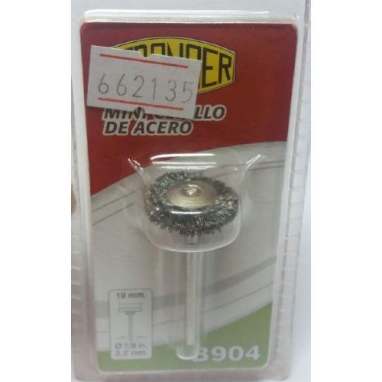 Mini Cepillo De Acero Pulir/limpiar B904 Stronger - Herracor