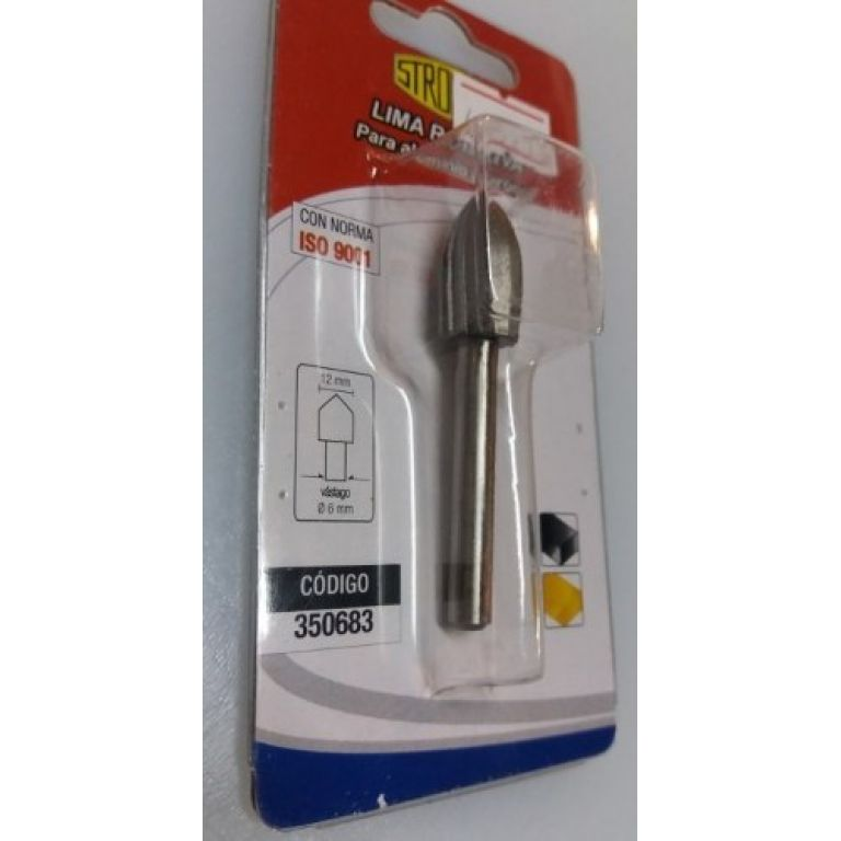 Lima Rotativa Para Aluminio/bronce 350683 Stronger Herracor