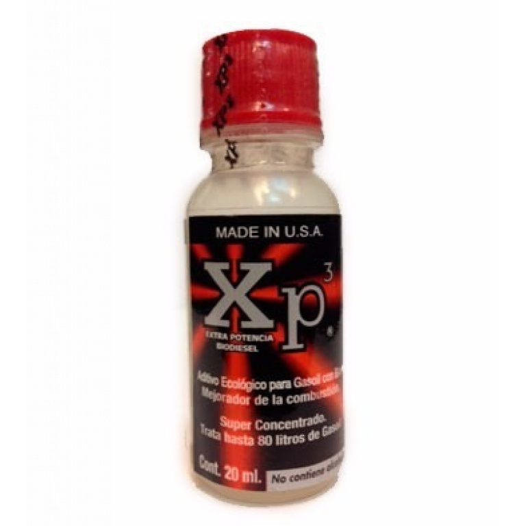 ADITIVO XP3 GAS OIL ( 80 LTS) 20 CC