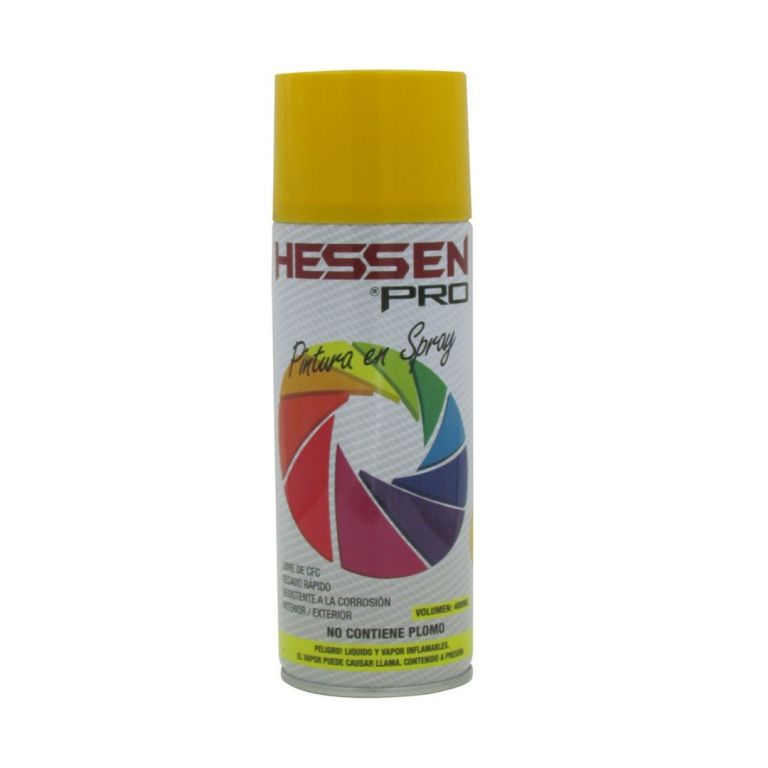 PINTURA EN SPRAY AMARILLO HESSEN 470-0025