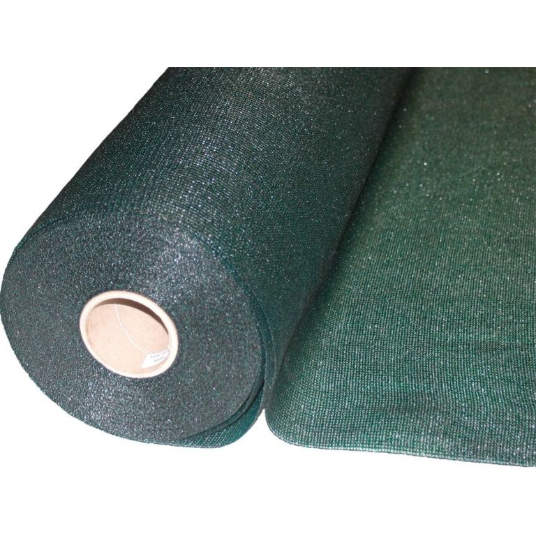 MALLA PLASTICA TENAX SOMBRA 80% VERDE SAH(2M)xROLLO