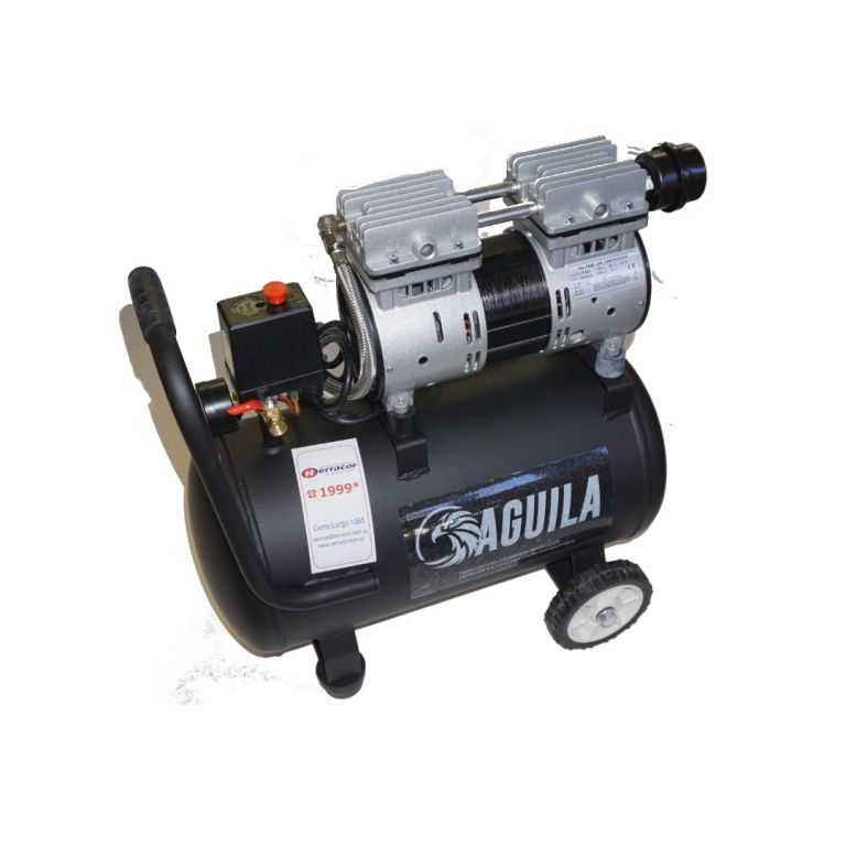 COMPRESOR AGUILA SIN ACEITE 0.55 HP 24 LTS