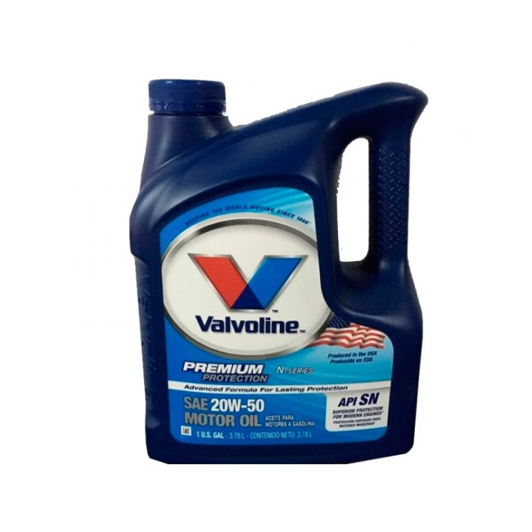 ACEITE VALVOLINE MOTOR OIL VV162 20W50 1GAL