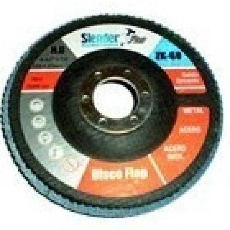 Disco Flap 115m Metal/ Ac.inox./ Acero Slender Gr80 Herracor