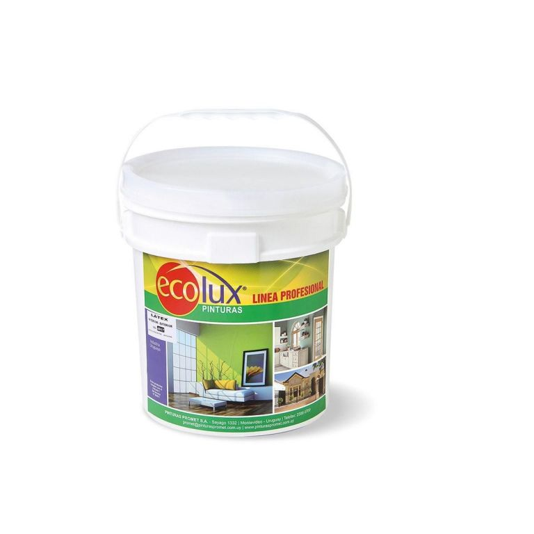 ECOLUX-LATEX INT/EXT AMARILLO 104 3.6 LT 461736