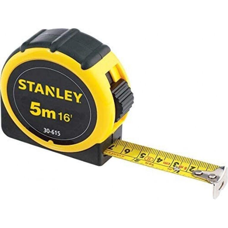 CINTA METRICA- STANLEY NRO 30615- 5.00 MTS