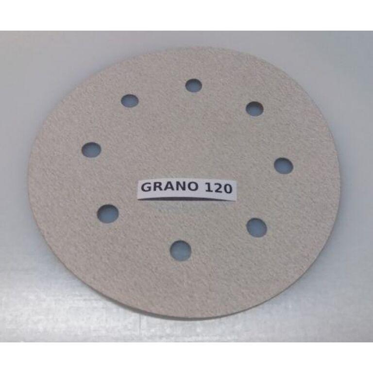 DISCO DE LIJADORA P/RODCRAFT 8' - GRANO 120 P/7690