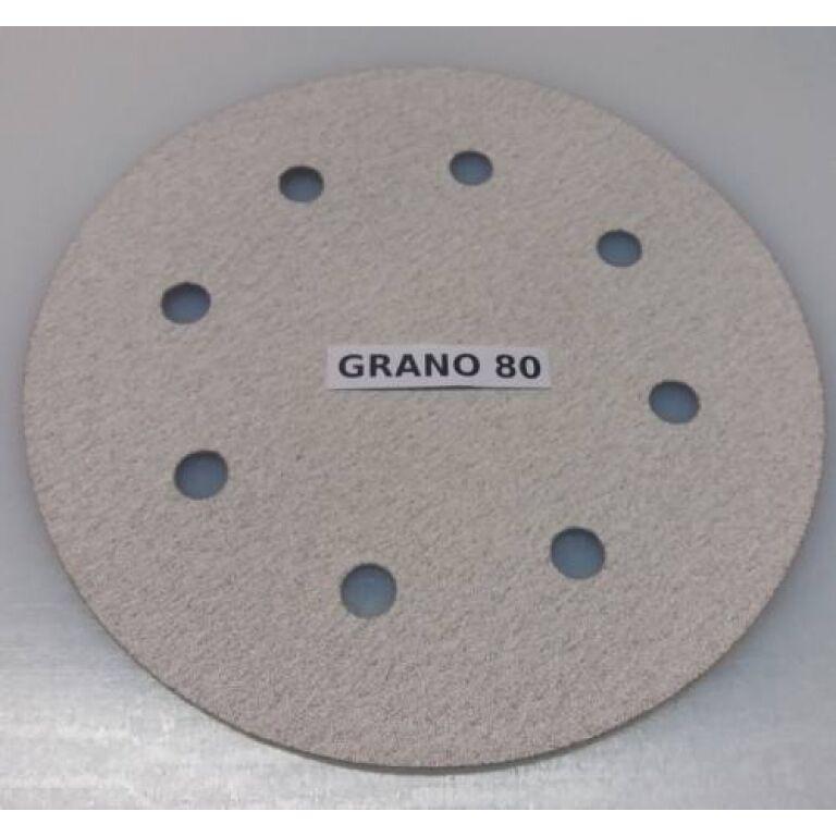 DISCO DE LIJADORA P/RODCRAFT 8' - GRANO 80 P/7690