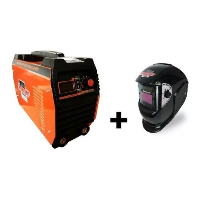 SOLDADURA ELECTRICA SMARTER INVERTER EVOLUTION 220 (C/CASCO)