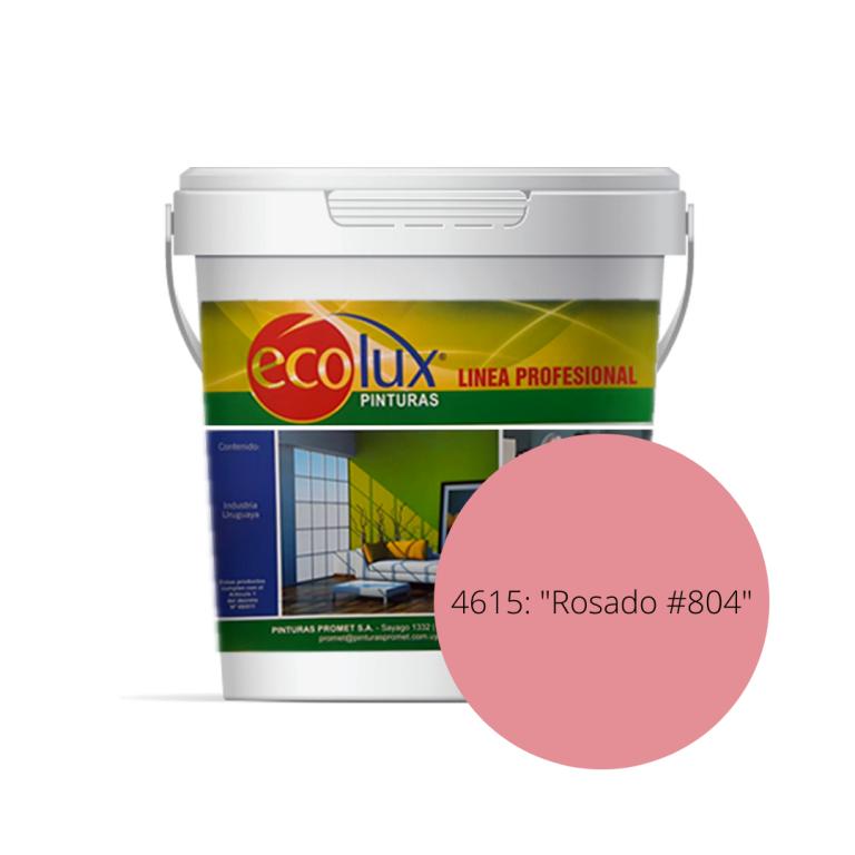 ECOLUX-LATEX INT/EXT ROSADO 804 3.6 LT 461536