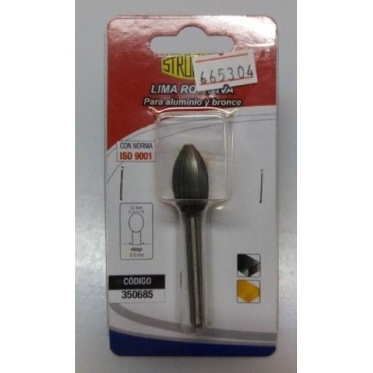 Lima Rotativa P/ Aluminio Y Bronce 350685 Stronger Herracor