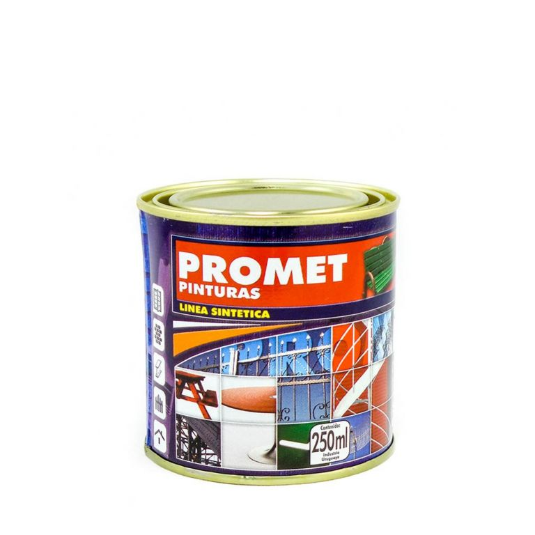 PROMET-ESMALTE SINTETICO OCRE BRILLANTE 1/4L 20081/4