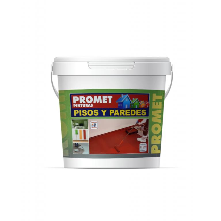 PROMET-P/PISOS Y PAREDES GRIS CLARO 1 LT 61111