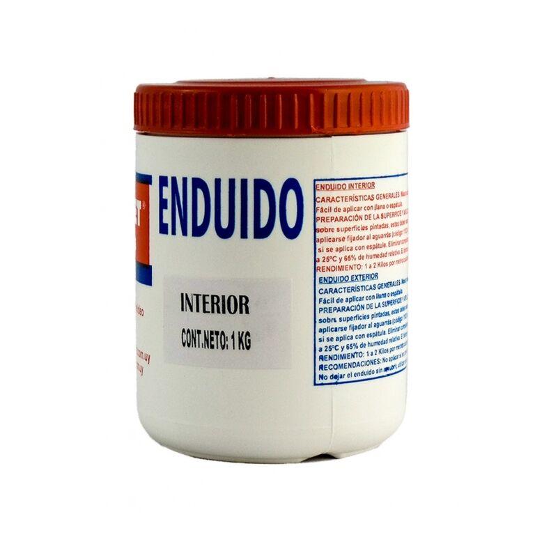 PROMET-ENDUIDO P/INTERIORES 1 KG ENDUI1