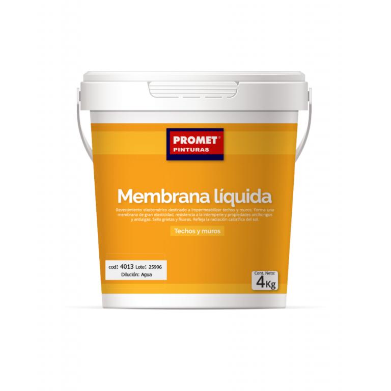 PROMET-MEMBRANA LIQUIDA MUROS Y AZOTEAS NF 4 k 40134