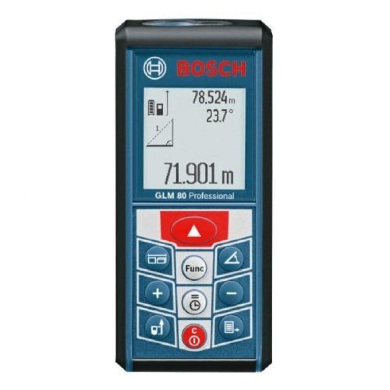 MEDIDOR DE DISTANCIA DIGITAL 80 MTS BOSCH GLM80