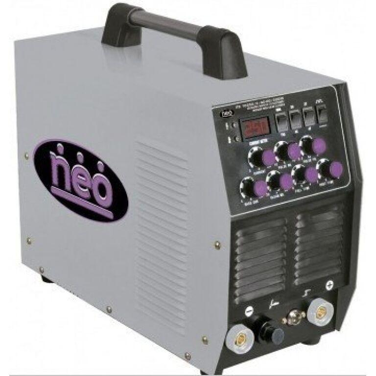SOLDADURA ELECTRICA NEO INVER/TIG 250AMP ITE10250/3/AC-DC/220M